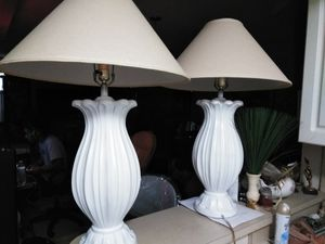 Two beautiful lamps for Sale in Boca Raton, FL