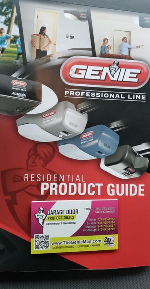 Genie Garage door and Garage door opener repair ! for Sale in Lakewood Ranch, FL