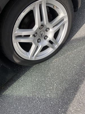 stock TL rims with 4tires for Sale in Orlando, FL