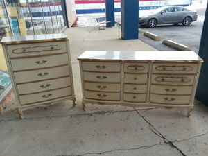 French Provincial dresser set ! Will separate? Only $125 each piece 😉 for Sale in Joliet, IL