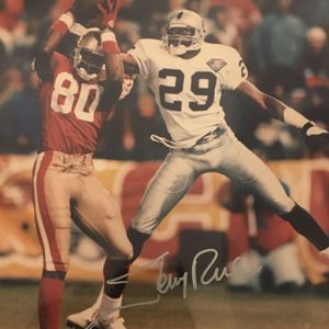 Signed Jerry Rice 8x10 Photo for Sale in Chicago, IL