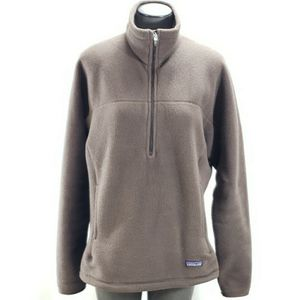 Patagonia Synchilla Size Large Brown Half Zip for Sale in Redmond, WA