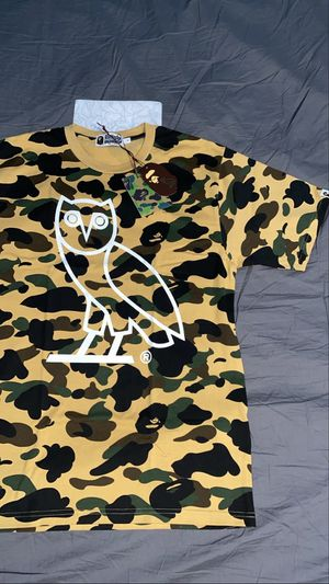 Bape X OVO Camo Large T-shirt for Sale in Los Angeles, CA
