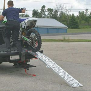 Black widow motorcycle ramp for Sale in Palm Harbor, FL