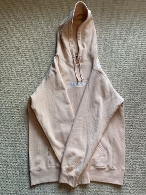 Supreme FW16 Peach Box Logo Hoodie Size Large for Sale in Arlington, VA