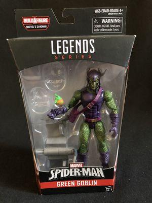 Marvel Legends Green Goblin Sandman NO BAF for Sale in Alhambra, CA