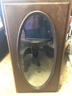"Tall OVAL glass window clear height 47"" x width 24"" for Sale in Jacksonville, FL"
