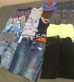 Lot of kids clothes 4-6 years used for Sale in Fort Lauderdale, FL