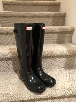 Original Tall Hunter Gloss Boots for Sale in Arlington, WA