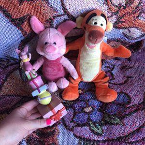 Disney Winnie The Pooh Plush Figurine Piglet Tigger for Sale in Temecula, CA