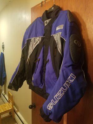 Suzuki motorcycle jacket for Sale in Medford Lakes, NJ