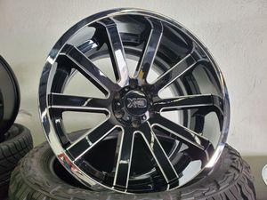22x12 -44 Offset Xd Series Rims for Sale in Orange, CA