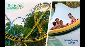 Two 1-Day (All Day) Tickets to Busch Gardens for Sale in Chesterfield, VA