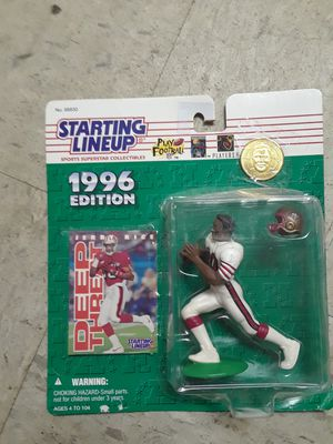 Starting Lineup Collectable Jerry Rice for Sale in Salt Lake City, UT