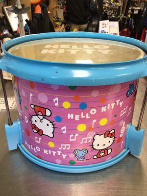 First Act Hello Kitty Drum w/Tamborine for Sale in Matawan, NJ