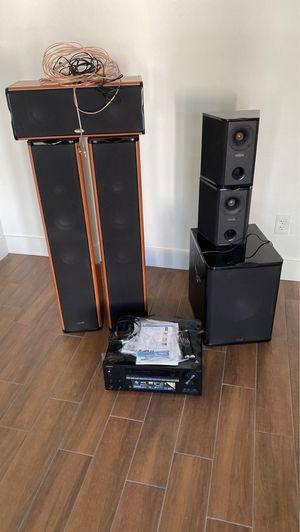 Onkyo tx-nr656 surround sound system for Sale in Phoenix, AZ