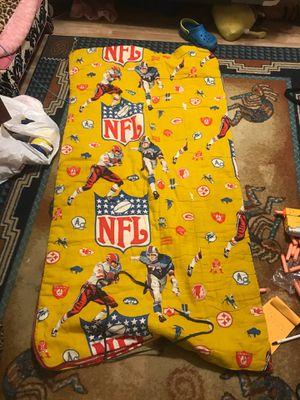 Vintage mid 70s NFL Sleeping bag for Sale in Coral Springs, FL