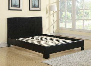 Used, Black Platform Bed for Sale for sale  Marietta, GA