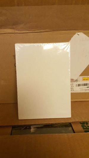 U.S. Art Supply 5in x 7in cotton canvas panel board for Sale in Los Angeles, CA