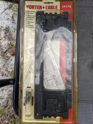 Carpentry tool, Door hinge router template-Porter Cable. for Sale in Sanford, FL