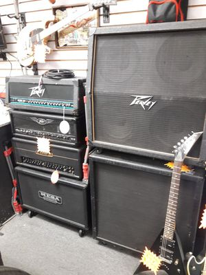 Pro audio / guitar amps, huge discounts for Sale in Hesperia, CA