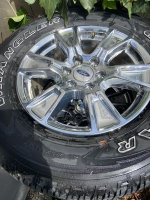 Ford F-150 set of tires and rims for Sale in San Diego, CA
