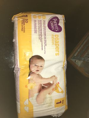 Diapers size 1 for Sale in Ontario, CA