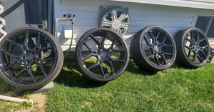 22inch wheels and tires for Sale in Westbury, NY