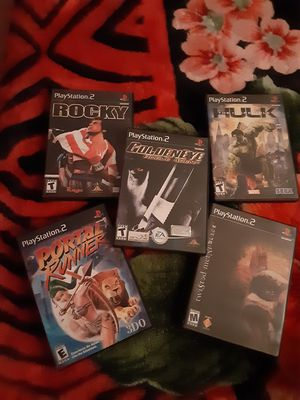 PS2 GAMES $10 EACH for Sale in Harbor City, CA