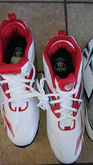 Reebok football shoes brand new NFL for Sale in Deer Park, WI