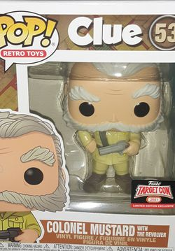 Funko Pop - Colonel Mustard Target Con Exclusive for Sale in Fort Washington,  MD
