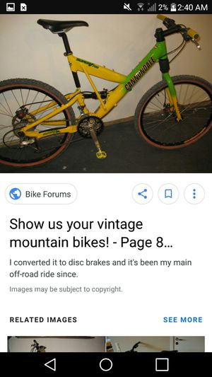 Cannondale used bike for Sale in Largo, FL