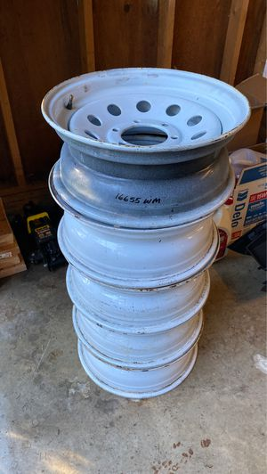 "Trailer wheels 16"" 4 plus spare tire for Sale in Kent, WA"