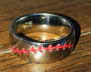Men's titanium baseball ring 10 for Sale in Glendale, AZ