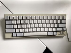 Happy Hacking Mechanical Keyboard Professional2 - HHKB Pro 2 - (White Keytop Print/blank) for Sale in Kenmore, WA