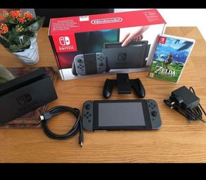 Nintendo Switch with Zelda for Sale in Capon Springs, WV