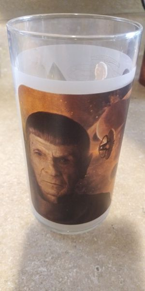 New never used Collectible spock glass for Sale in Corona, CA