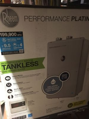 Tankless water heater for Sale in Millbrae, CA