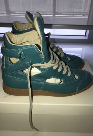 Maison Martin Margiela Teal Hightop Sneakers for Sale in Miami, FL