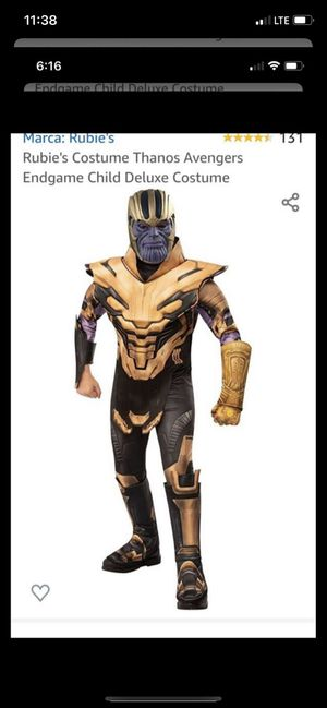 Halloween Costume. Marvel Thanos for Sale in North Las Vegas, NV