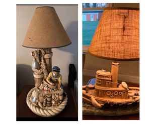 Nautical Lamp Set for Sale in Shelbyville, TN