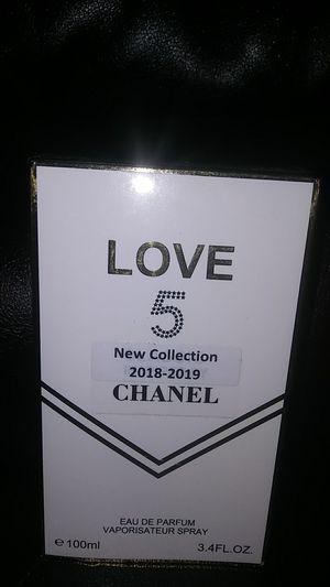 LOVE 5 CHANEL perfume woman for Sale in Hemet, CA