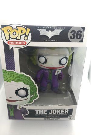 The Joker Funko POP Heath Ledger Dark Knight Trilogy for Sale in Corona, CA