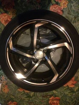 """Set of 4 18"""" HD Tuning 5x100 lug Zag rims for Sale in Sanford, ME"""