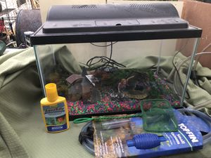 Fish tank and accessories for Sale in Austin, TX