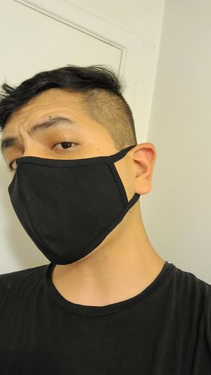 Triple layer face mask, Adult sizing, cotton, washable, face covers for Sale in Hacienda Heights, CA