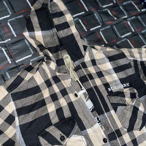 "Burberry ""Shirt Hoddie"" for Sale in Porterdale, GA"