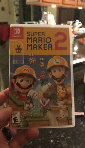 Super Mario Maker 2 for Sale in Miami, FL