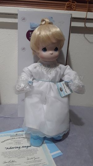 "Precious Moments "" Adoring Angel"" Porcelain doll Ashton Drake Galleries for Sale in Tampa, FL"