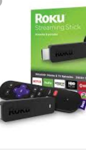 Roku stick with remote for Sale in Sewell, NJ